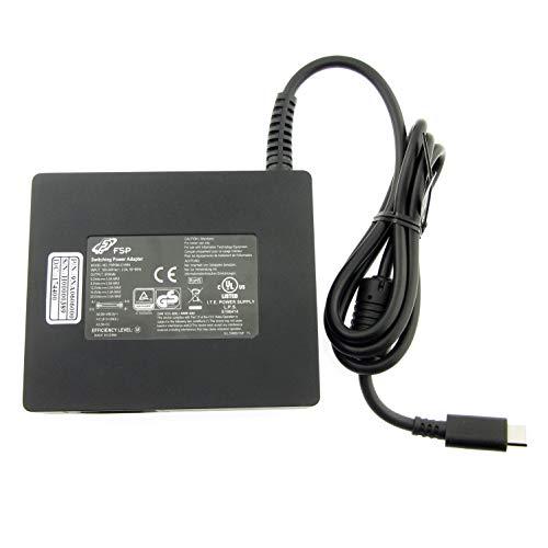 FSP Adaptador de corriente de la marca USB-C original de 60 W Slim FSP060-D1AR4 para ASUS, Acer, Apple, Dell, Lenovo, HP, Samsung, Chromebook Pixel C e idénticos