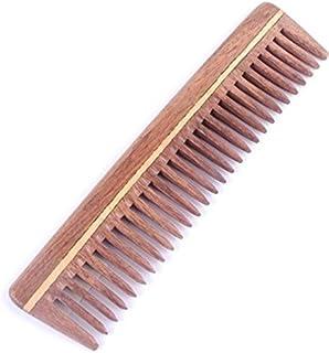 FLAMEER Haarkamm Frisierkamm Lockenkamm Str/ähnenkamm aus Holz Feiner Zahn Glatt und Nahtlos wie beschrieben wie beschrieben