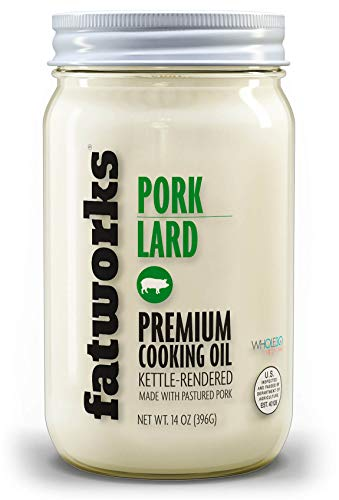 Fatworks USDA Premium Pasture Raised Pork Lard
