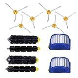 HanGao 2 Blue Aerovac Filter + 2 Set Pincel Principal Kit + 6...