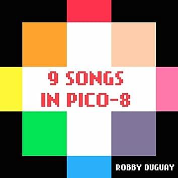 9 Songs in PICO-8