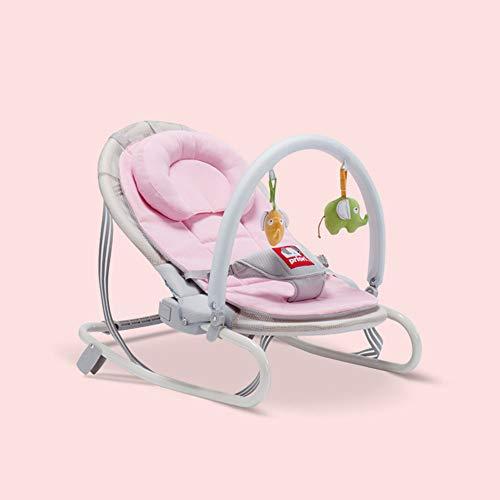 Bouncer, balancín de bebé a niño pequeño, silla de gorila y balancín, adecuado para recién nacido recién nacido recién nacido asiento basculante para 0-36 bocas, C