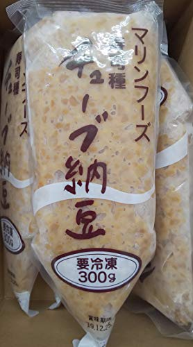 寿司種 ひきわり納豆 ( チューブ ) 300g×5本 納豆 冷凍 業務用