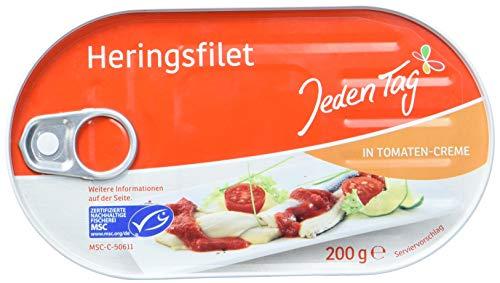 Jeden Tag MSC Heringsfilets 200 g, Tomatensauce