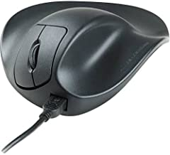 Hippus M2WB-LC Wired Light Click HandShoe Mouse (Right Hand, Medium, Black)