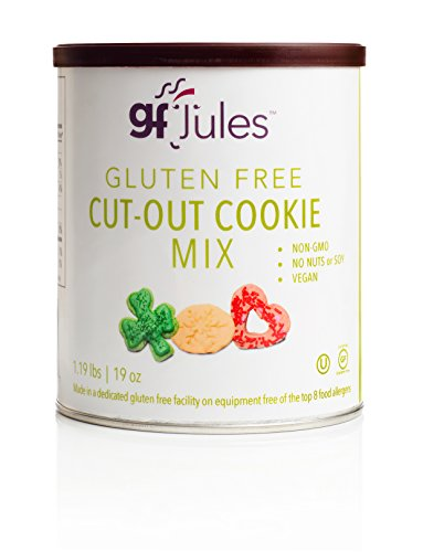 gfJules Gluten Free Cut-Out Cookie Mix 1.19 lbs, Pack of 1