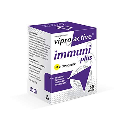NEU | Viproactive® Immuni Plus | Immunsystem stärken & Zellen schützen | Tabebuia, Andrographis und Uncaria | Vitamine und Mineralstoffe