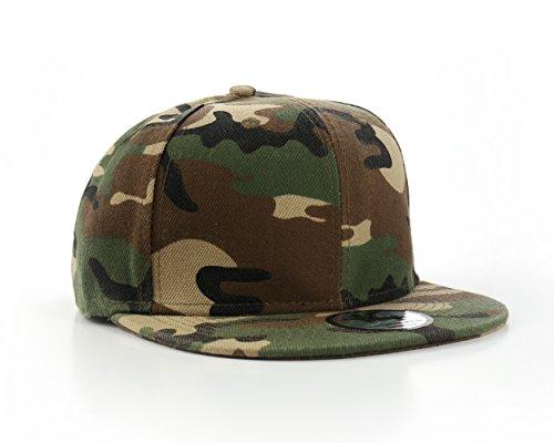 Nuevo diseño de camuflaje/estilo del ejército sábana bajera para cama de gorra de béisbol pantallas planas o espacios Peak 7 1/4 (57,7 cm)