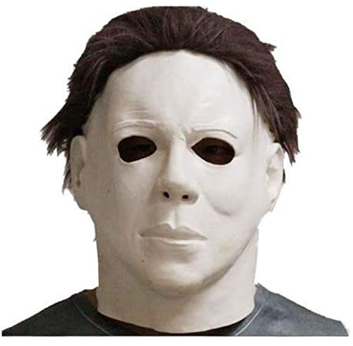 Rubber Johnnies Latex Michael Myers Halloween Horror Maske Voll Kopf Film Qualität Mit Haar