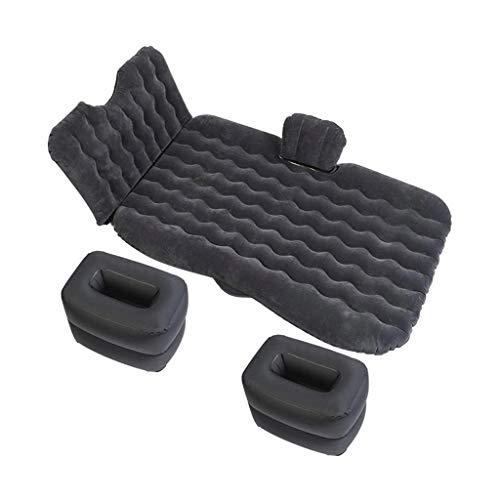 WZHZJ Cabeza genérica Guardia Generic Mantenimiento de Viaje para automóviles cómodo Cómodo automóvil Inflable colchón (Color : Black)