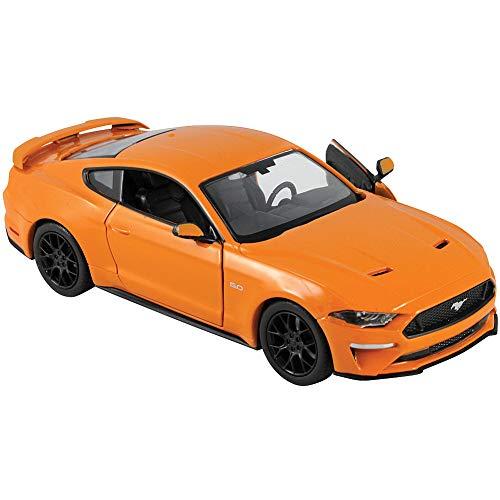 Motormax Ford Mustang GT 2018 orange Modellauto 1:24