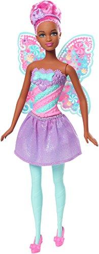 Barbie Mattel FCR45 - Dreamtopia Bonbon-Fee Puppe brünette
