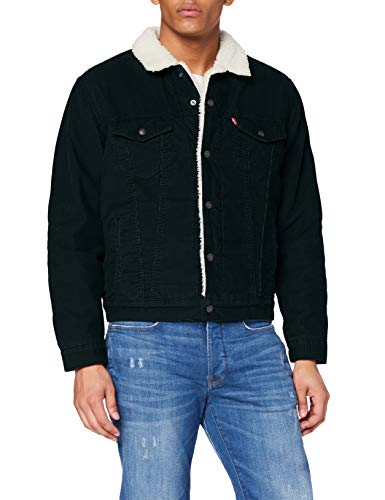 Levi's Type 3 Giacca, Scarab Cord Sherpa Trucker, M Uomo