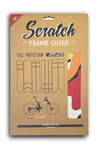 Scratch Sun Set Camo - Protector de marco completo para bicicleta de montaña