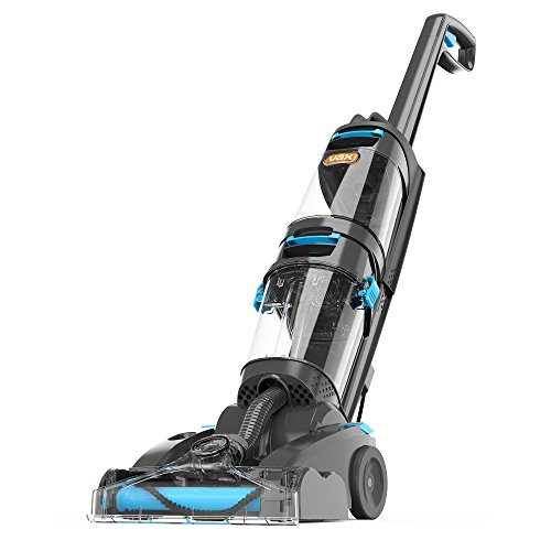 Vax ECR2V1P Dual Power Pet Advance Carpet Cleaner, Plastic, 800 W, 4.2 liters, Grey/Blue