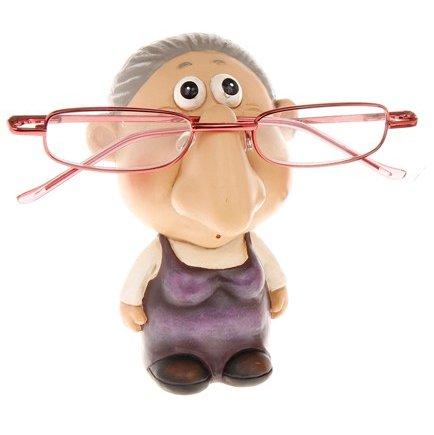 Comic Female Specs or Glasses Holder by ukgiftstoreonline