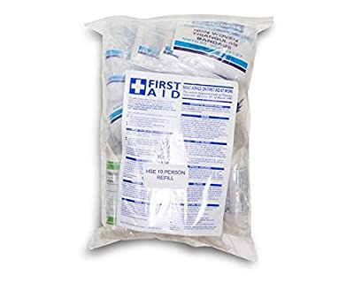 Amzhealth HSE 10 Person First Aid Kit Refill from Amzhealth