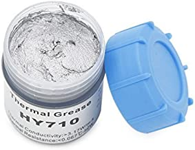 Halnziye 20Gram Silver Compound Thermal Conductive Grease Paste for CPU GPU Chipset Ovens Cooling