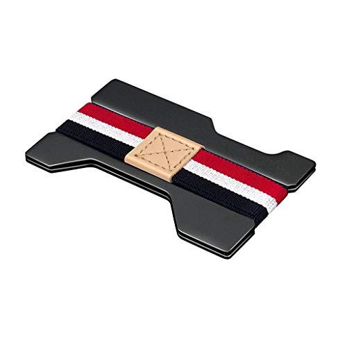 RWX Pinceau Anti-vol en Métal Clip Ultra-Mince Carte De...