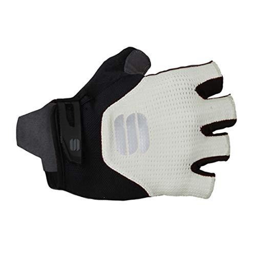 Sportful Neo Gloves - Guantes Deportivos, Color Blanco y Negro, Extra-Large