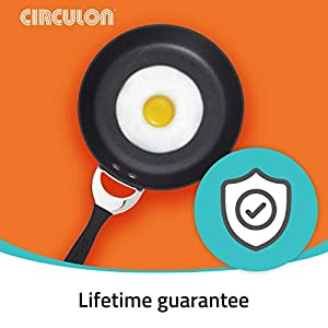 Circulon Symmetry Hard-Anodized Nonstick Frying Pan, 11-Inch, Chocolate