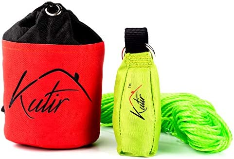 Kutir Throw Weight and Line Kit with Storage Bag 14 OZ 600D Pouch 150 Foot Polyethylene Easter product image