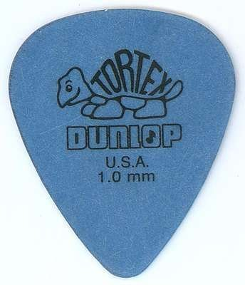 Jim Dunlop 418R Tortex Standard:Blue (1.0mm) 12枚セット