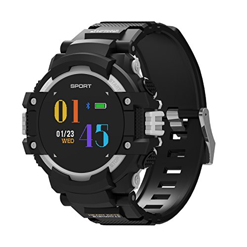 GPS Smart Watch, IP67 Waterproof Activity Tracker with Heart Rate Monitor, with Bluetooth Pedometer and Multiple Sports Mode Compatible with Android and iOS Smart Phone