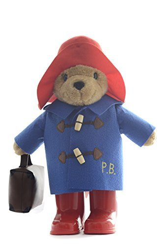 Paddington Bear Large Classic With Boots And Suitcase by ToyCenter