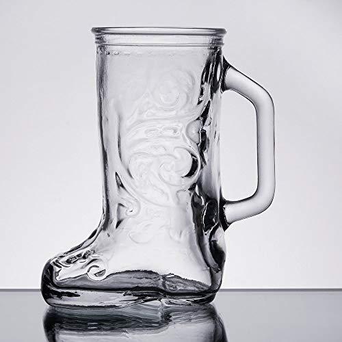 plastic boot beer glass - 3