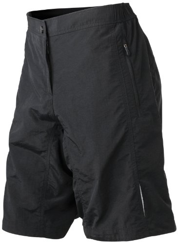 James & Nicholson Damen Sport Shorts Bike Shorts schwarz (black) X-Large