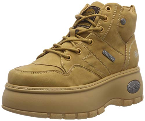 Dockers by Gerli Damen 43DR202 Hohe Sneaker, Gelb (Golden Tan 910), 39 EU