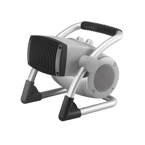 Portable Electric Jobsite & Garage Heater, 1500W/900W, 120V AC
