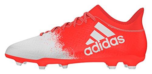 adidas X 16.3 FG, Botas de fútbol para Mujer, (Solar Red/FTWR White/Solar Red), 36 2/3 EU