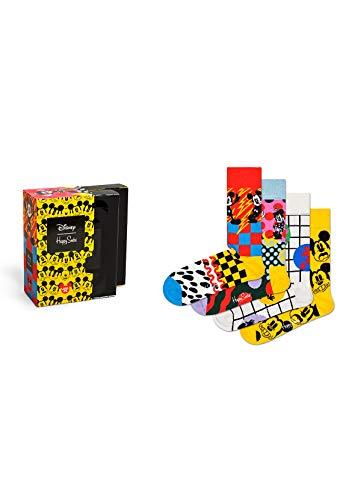 Happy Socks - Disney Geschenk Box - XDNY09-4 Paar (36-40 Mehrfarbig)