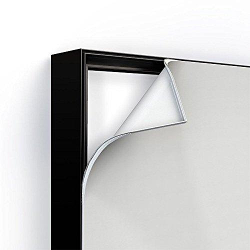 Klemp - Anzeige Aufhängen Doppelseitig Alu Profil fur Werbung, Textilspannrahmen Einfachheit des Grafikaustauschs Profil LED beleuchtet Textilspannrahmen 100 mm Lightbox