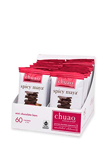 Chocolate Bars-Chuao Chocolatier Spicy Maya Mini Chocolate Bars 24pk