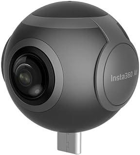 Insta360 Air、360°パノラマカメラ、デュアル魚眼レンズ、3K/2K解像度、持ち運びやすい、Android・多機種対応, Facebook 360ライブ (Micro USB)