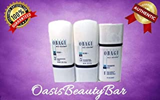 Obagi Nu-Derm Fx Kit: 3 items: Clear Fx, Blend Fx, and Foaming Gel (Authentic)