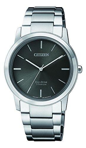 CITIZEN Damen Chronograph Solar Uhr mit Titan Armband FE7020-85H