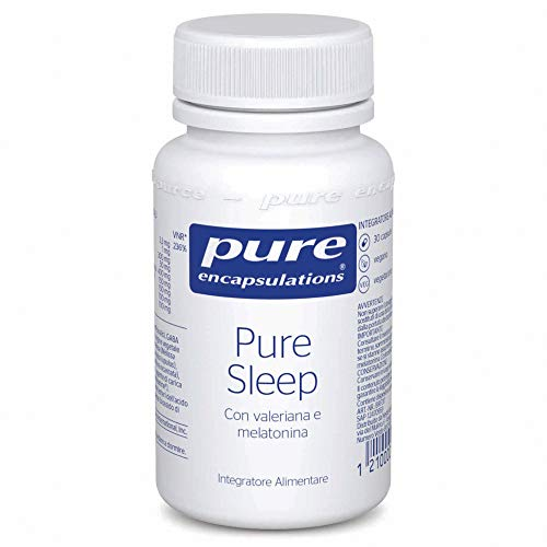 Pure Encapsulations – Pure Sleep - Integratore a base di melatonina, valeriana, teanina Sunthenine...