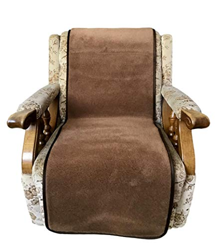 Sesselschoner Sesselüberwurf mit 20% Kamelwolle 50 x 200 cm