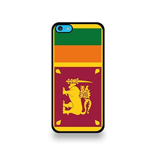 LD Case COQIP5C_172 beschermhoes voor iPhone 5C, motief Sri Lanka vlag