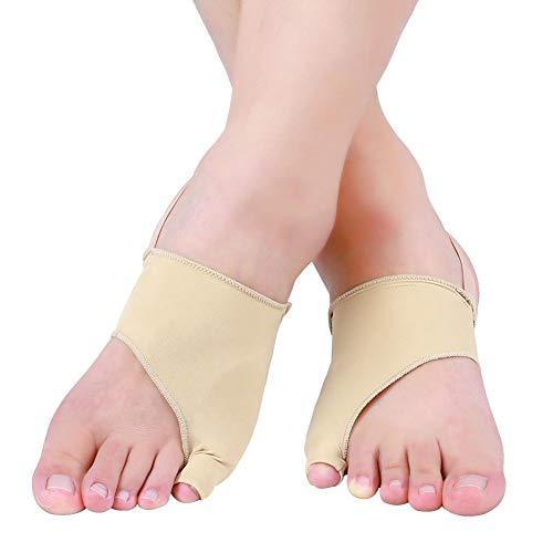 Mangas de protección de juanetes Tela de lycra funda de protección para los dedos de los pies dispositivo de corrección del valgo del pulgar