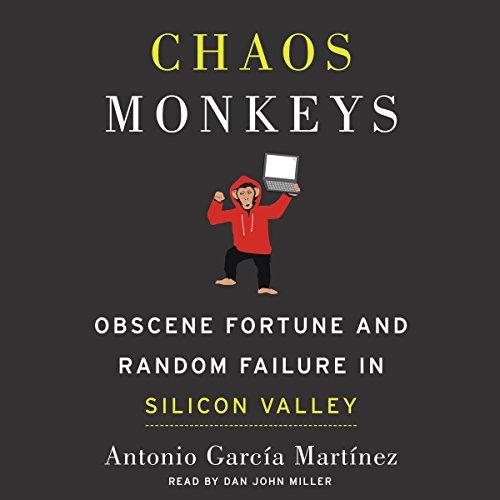 Chaos Monkeys audiobook cover art