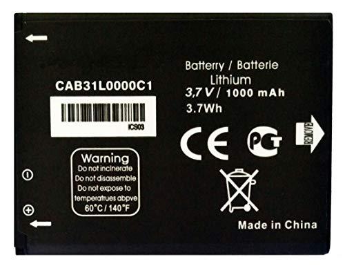Bateria Compatible con CAB31L0000C1 para Alcatel One Touch 2004g / 2004c / OT-3040 Tribe/OT-282 / Vodafone 555