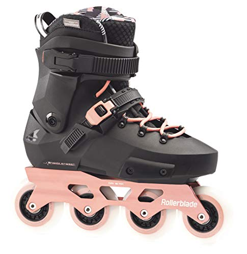 Rollerblade Twister Edge W Edition 3 Patins à roulettes Noir/or rose, Taille 38