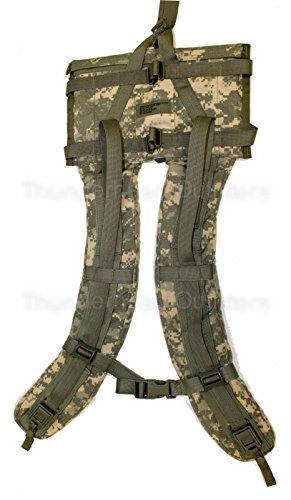 MOLLE II Rucksack Shoulder Straps, ACU