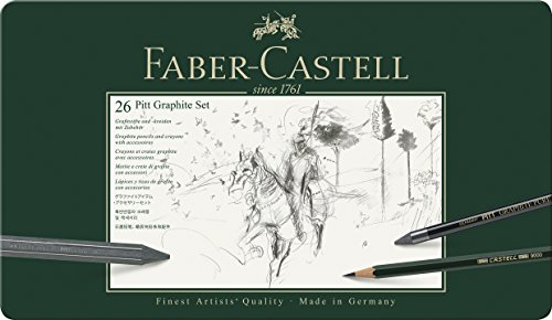 Faber-Castell Set im Metalletui, 26-teilig