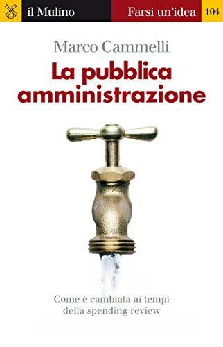 La pubblica amministrazione (Farsi un'idea Vol. 104)